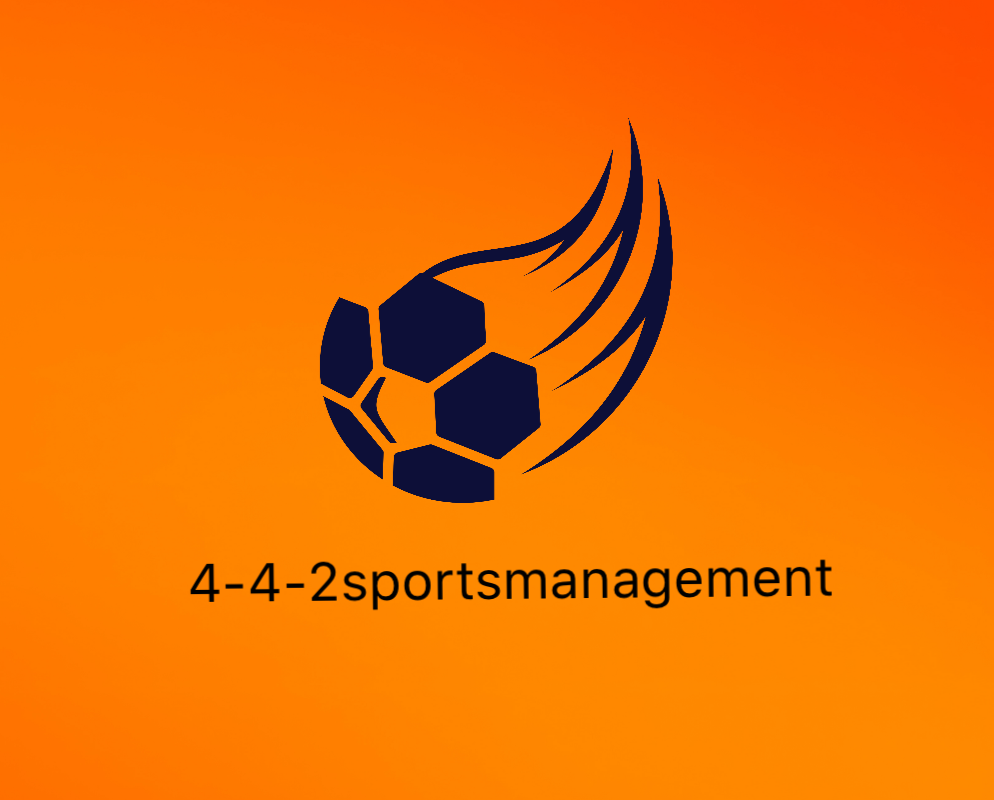 442 sports management logo colored